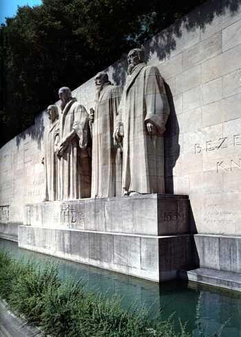 Geneva reformators memorial
